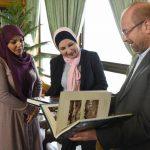 دیدار دکتر قالیباف با خانم ذکری محمد علوش، شهردار بغداد!