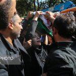 مراسم تشییع پیکر محمدعلی فلاحتی نژاد قهرمان وزنه برداری