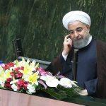 ژستهای جالب روحانی در حاشیه جلسه رای اعتماد در مجلس