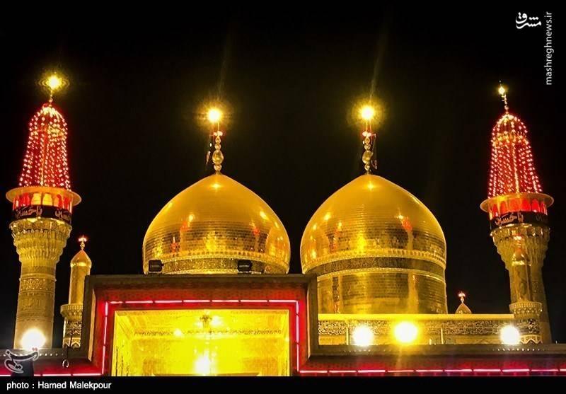 عزاداری شهادت امام جواد در کاظمین