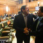 حاشیه های جلسه آخر شورای شهر تهران | سلفی عباس جدیدی و خاطره جالب چمران از سلفی ها! + فیلم
