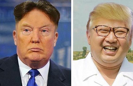 شوخی با ترامپ و کیم جونگ اون