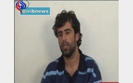 داعشی دستگیر شده حادثه تروریستی تهران
