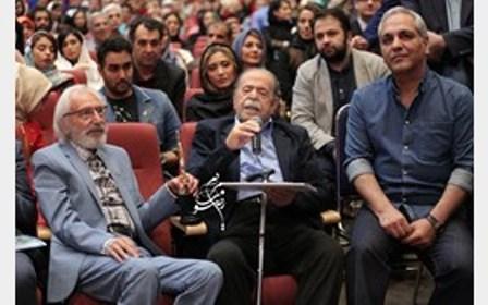 تقدیر از محمدعلی کشاورز در جشن حافظ