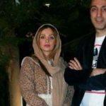 جشن تولد ۳۷ سالگی امیرمهدی ژوله در کنار همسر و فرزندش!