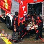 ساختمان وزارت نفت دچار حریق شد + فیلم