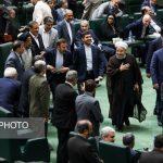 دکتر روحانی جهت آخرین دفاعیات از وزرای پیشنهادی به مجلس آمد