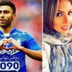 واکنش فرنوش شیخی به درخشش همسرش کاوه رضایی!