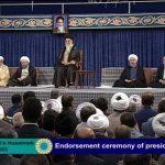 حضور بازیگر سینما و تلویزیون در مراسم تنفیذ حسن روحانی