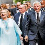 خانم و آقای کلینتون در مراسم ازدواج پولدارها !