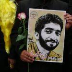استقبال مردم مشهد از خانواده شهید محسن حججی در فرودگاه + فیلم