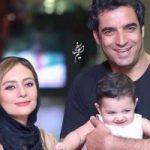 وقتی که یکتا ناصر و منوچهر هادی در جشن حافظ یکدیگر را در آغوش می گیرند! + فیلم