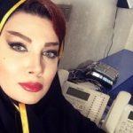 چهره بدون گریم پریچهر مشرفی بازیگر نقش منشی شرکت در سریال عاشقانه!