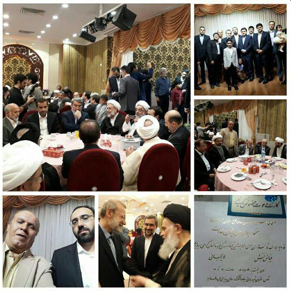 مراسم دامادی پسر علی لاریجانی با حضور روحانی و دیگر مقامات!