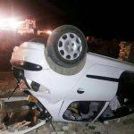 4 کشته در تصادف ۴۰۵ با تریلی در جاده تبریز-زنجان!
