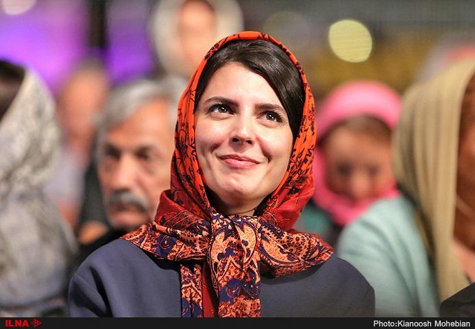 ليلا حاتمی در جشن خانه سينما