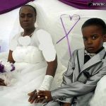ازدواج زن ۶۱ ساله با پسر ۱۰ ساله به دستور مردگان!!