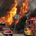 آتش سوزی گسترده در جنگلهای لس آنجلس!