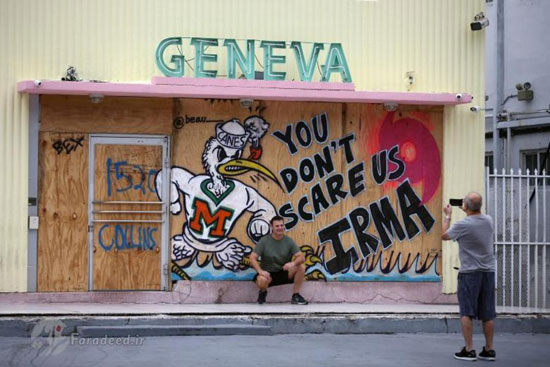 فلوریدا پیش از رسیدن ایرما