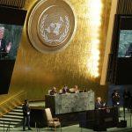 پوشش ملانیا در مجمع عمومی سازمان ملل