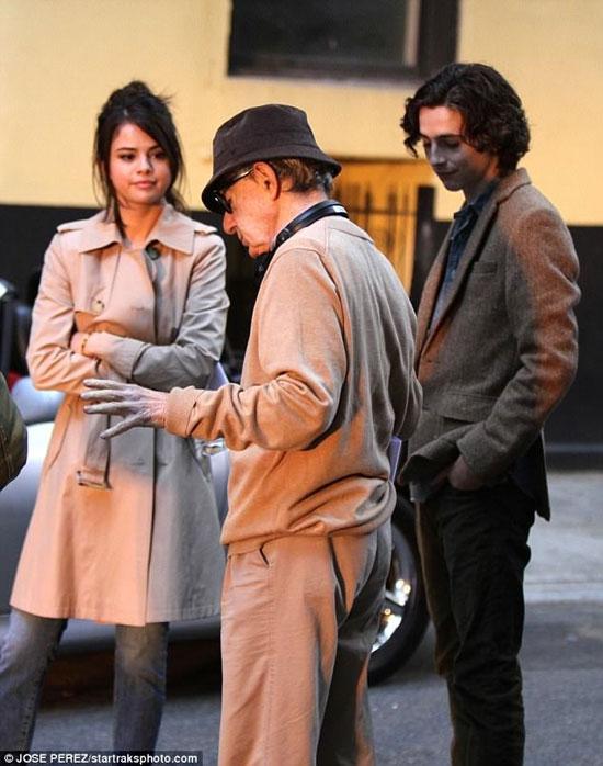 سلنا گومز در فیلم تازه وودی آلن