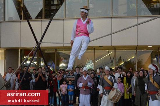 رقص کره ای در برج میلاد