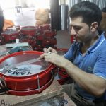 حال و هوای تنها کارخانه طبلسازی خاورمیانه در آستانه محرم
