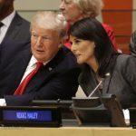 حاشیه های اولین حضور ترامپ در سازمان ملل