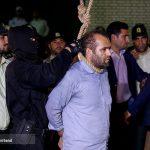 لحظات اجرای حکم اعدام قاتل آتنا اصلانی (۱۶+)