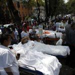 تصاویری از خسارت زلزله در مکزیک