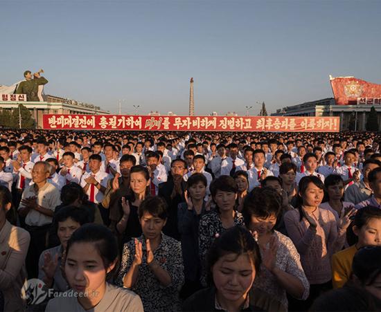 تظاهرات ضد آمریکایی در کرهشمالی