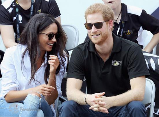 پرنس هری و همسر آیندهاش در انظار عمومی!