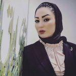 تیپ متفاوت خانم بازیگر دیشب در استادیوم ابوظبی!