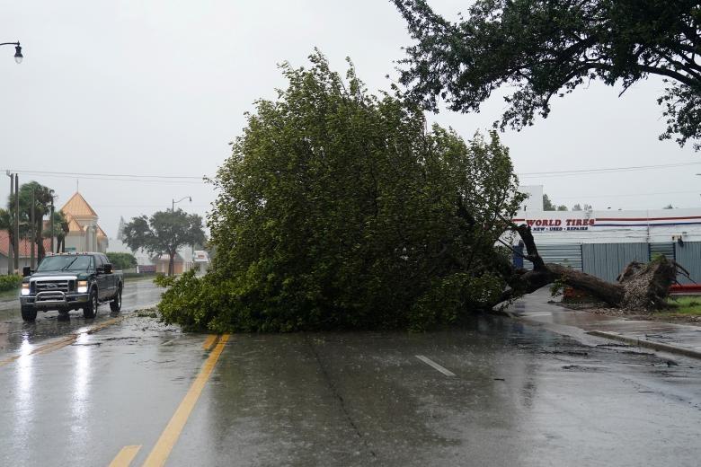 طوفان ایرما در میامی