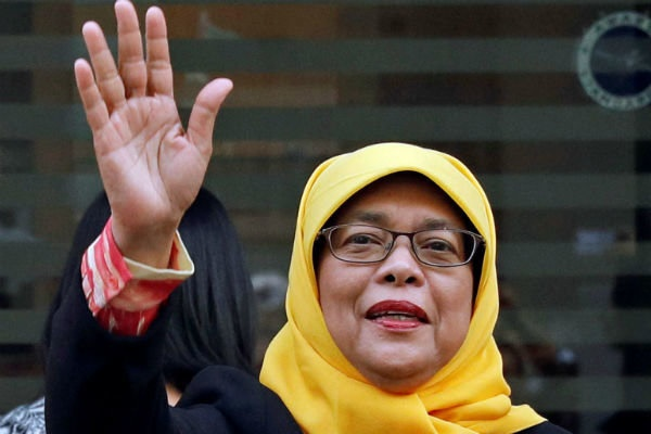 اولین رئیسجمهور زن سنگاپور