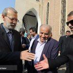 علی لاریجانی در کلیسای ننهمریم ارومیه