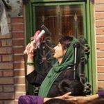 هانیه توسلی در مراسم آغاز سالتحصیلی کودکان کار!