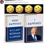 ترامپ کتاب جدید کلینتون را به تمسخر گرفت!