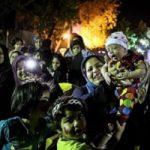 تصاویر نذری ۱۴هزار نفری اهوازیها در شب عید غدیر