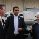 خودروی زیبای حسن روحانی در نیویورک