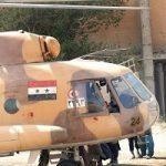 بالگرد ارتش سوریه در اطراف تهران دیده شد