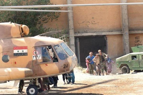 بالگرد ارتش سوریه در اطراف تهران