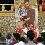 مراسم اربعین شهید محسن حججی