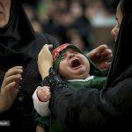 مراسم شیرخوارگان حسینی در مصلای تهران