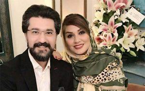 جشن تولد امیر حسین مدرس به همراه همسر دومش!