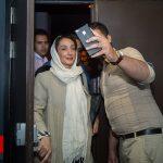 اکران مردمی اکسیدان با حضور هدیه تهرانی و نیوشا ضیغمی