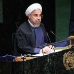 مقامات آمریکایی هنگام سخنرانی روحانی در سازمان ملل