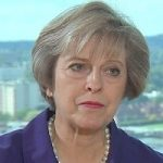 سخنرانی نخست وزیر انگلیس برای صندلی های خالی