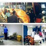 علت واژگونی اتوبوس دانش آموزان هرمزگانی اعلام شد