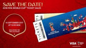 زمان آغاز فروش اینترنتی بلیت های جام جهانی ۲۰۱۸ روسیه